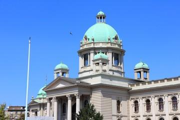 Belgrade - Serbian Parliament