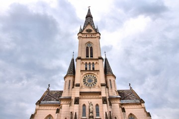 Koszeg, Hungary - Sacred Heart Church