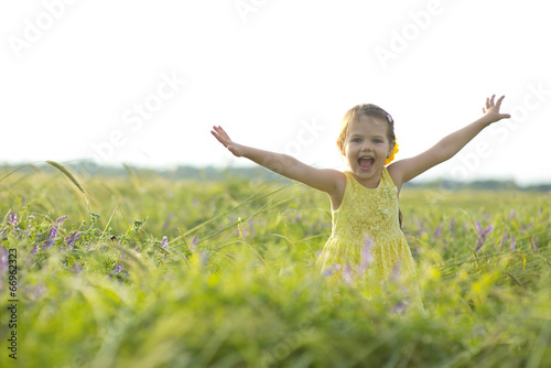 canvas print picture happy child