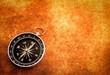 canvas print picture - Kompass