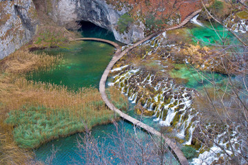 Plitvice lakes national park canyon