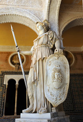 Pallas athena, goddess of war
