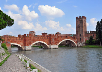 Old bridge of Verona