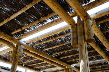 techo de paja