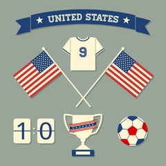 US Soccer Icons Collection