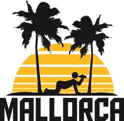 Mallorca Saufen Trinken Alkohol Sonne