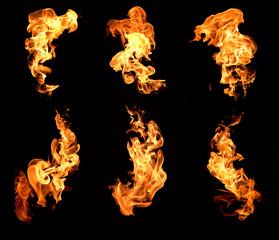 Flame heat