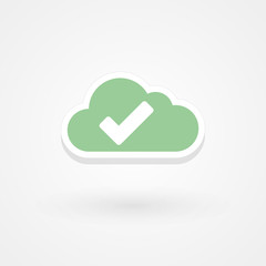 Icon right cloud
