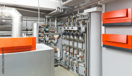 Modern heating system - 66968386