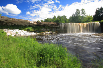 Jagala Waterfall, Jagala Juga, Estonia