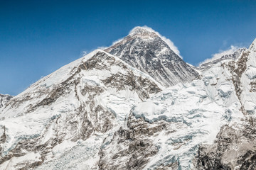 Mount Everest Summit in Nepal