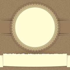 Circle and vintage background 002