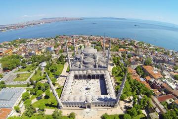 Blue Mosque. Aerial