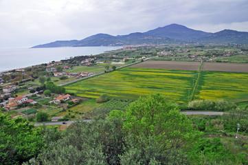 Cilento, Campania - la piana di Velia