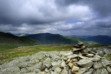 Helvellyn, Saint Sunday Crag all from Hart Crag