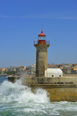 Ancient lighthouse, Porto - Portugal (Europe)