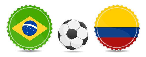Brasilien gegen Kolumbien