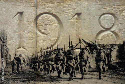 Leinwanddruck Bild Grande Guerre 1914-1918 - 3