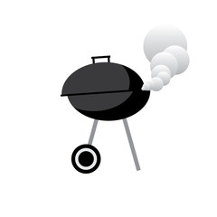 barbecue gril vector illustration