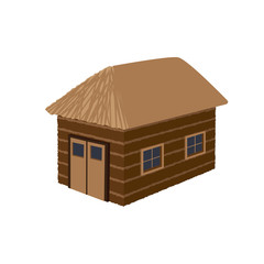 barn vector illustration