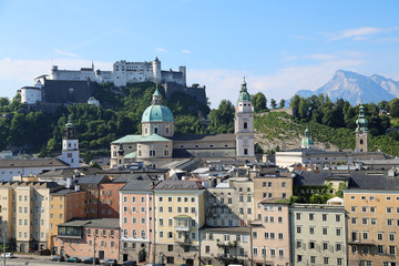 Rudolfskai in Salzburg