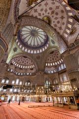 In der blauen Moschee / Istanbul