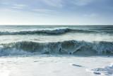 Fototapety Breaking ocean waves