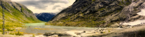 canvas print picture Norwegian Fjord 3