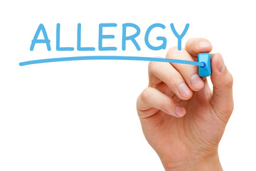 Allergy Blue Marker
