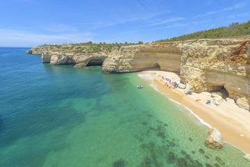 Praia da Marinha near Lagoa, in Algarve, Portugal