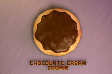 Chocolate Cream Cookie