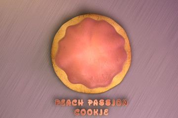 Peach Passion Cookie