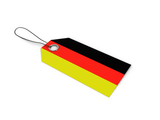 GERMANY flag label / tag