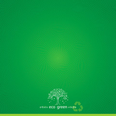 Green eco textured abstract background.