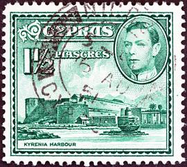 Kyrenia Harbor (Cyprus 1938)