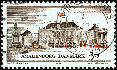 Amalienborg Castle, Copenhagen (Denmark 1994)