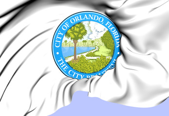 Orlando Coat of Arms, USA.