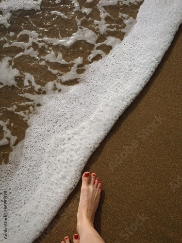 Feet and Sand