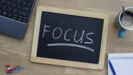 Focus written