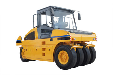 The image of road roller
