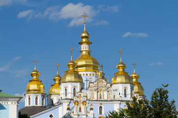 Saint Mishel cathedral in Kyiv