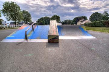 Skate park HDR