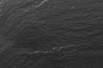 Schiefer glänzend schwarze Struktur oder Hintergrund