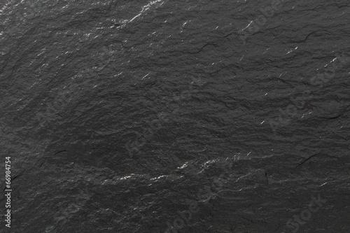 canvas print picture Schiefer glänzend schwarze Struktur oder Hintergrund