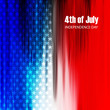 4th of July American Independence Day texture background vector