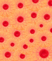 red flowers background