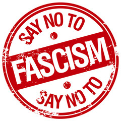 say no to fascism stamp