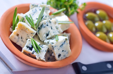 cheese and olives