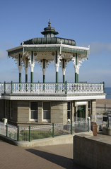 Bandstand on Brighton seafront. England
