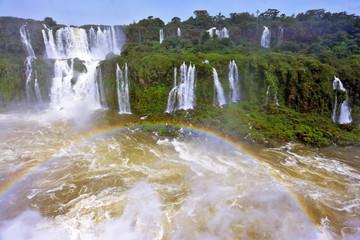 The thundering waterfalls of Iguazu